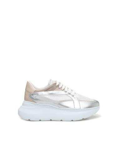 Divarese 5024456 Kadın Sneaker Gümüş